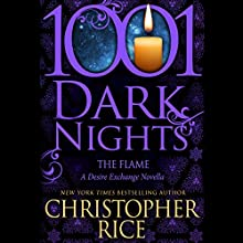 The Flame Audiobook by Christopher Rice Narrated by Natalie Ross, Paul Boehmer