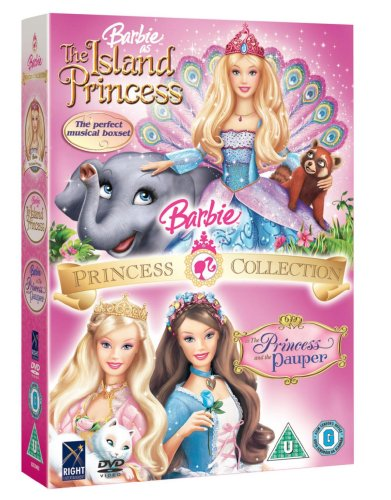 Barbie Musical Box-Set (Includes Island Princess & The Princess and the Pauper) [DVD]