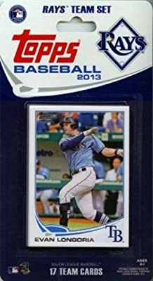 2013 Topps Tampa Bay Rays Factory Sealed Special Edition 17 Card Team Set
