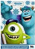 Children's Kids Characters Fun Christmas Milk Chocolate Advent Calendar Xmas Gift 2013 (Monster Inc)