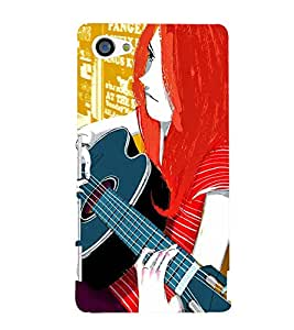 TOUCHNER (TN) Colorfull Music Back Case Cover for Sony Xperia Z5 Compact::Sony Xperia Z5 Mini