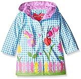 Wippette Baby Girls Lovely Garden Rainwear, Blue, 12 Months