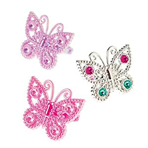 US Toy Us Toy Butterfly Rings