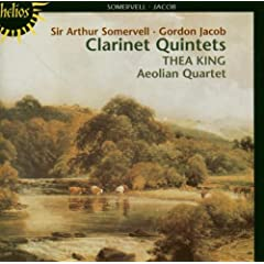 Clarinet Quintets of Somervell & Jacob