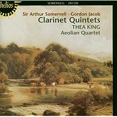 Clarinet Quintets of Somervell & Jacob