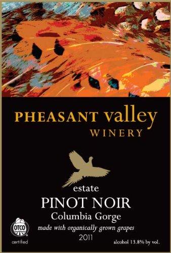 2011 Pheasant Valley Estate Organic Pinot Noir 750 Ml