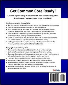 narrative essay common core Students will learn to write a narrative essay using precise language, action,  dialogue, sensory imagery, and story structure students will: learn the difference .