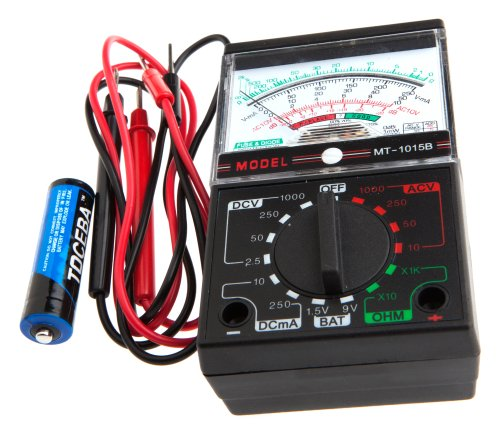 Ohmmeter To Measure Ohms : Ohmmeter instructions