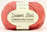 DEBBIE BLISS CASHMERINO ARAN HAND KNITTING YARN 50g Coral 073