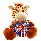 LZ Flag Plush Giraffe 18cm