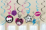Acquista Monster High Value Pack Hanging Swirl Decorations spiral decoration Hanging Monster High Value Pack Halloween Christmas (japan import)