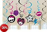 Monster High Value Pack Hanging Swirl Decorations spiral decoration Hanging Monster High Value Pack Halloween Christmas (japan import)
