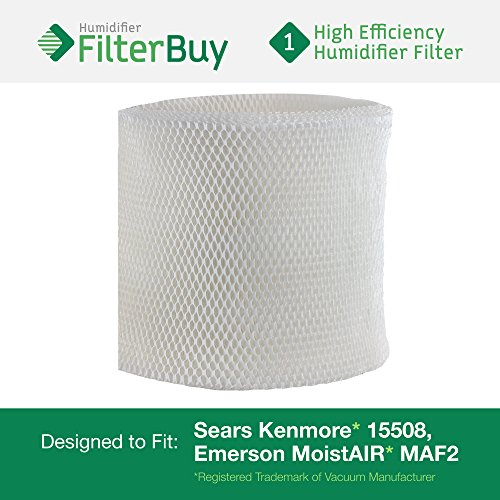 15508 Sears Kenmore Humidifier Wick Filter. Fits humidifier model numbers 17006, 15408, 29988, 154080, 29706, 299880C, 3215508 and 4215508. Designed by AFB in the USA. (Humidifier Filter Kenmore compare prices)