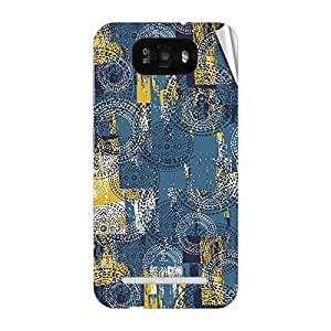Garmor Designer Mobile Skin Sticker For Gionee GN705T - Mobile Sticker