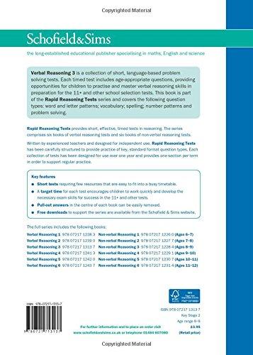 Verbal Reasoning 3 (Rapid Reasoning Tests)