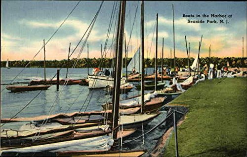Boats in the Harbor at Seaside Park, New Jersey