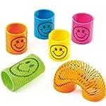 48 x Mini Smiley Springs - Party Bag...
