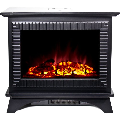 Frigidaire Bmsf-10311 Boston Cast Iron Floor Standing Electric Fireplace - Black