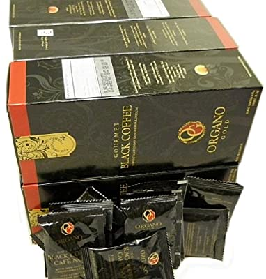 6 Boxes of Organo Gold Ganoderma - Black Coffee (30 sachets per box) by BE