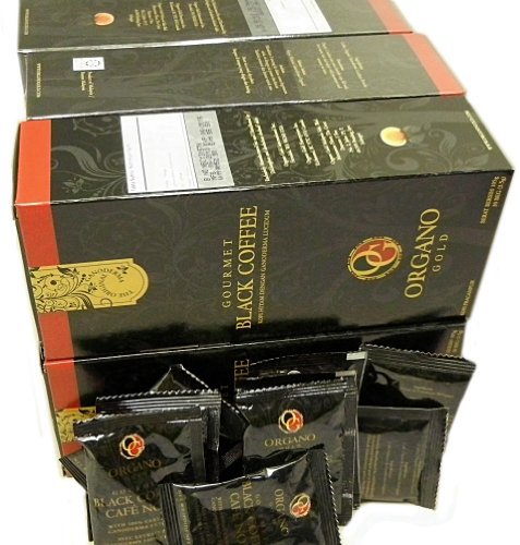 6 Boxes Of Organo Gold Ganoderma - Black Coffee (30 Sachets Per Box) + 4 Extra Sachets