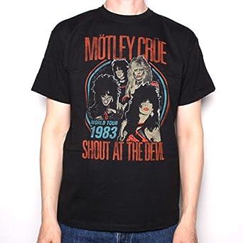 Amazon.com: Old Skool Hooligans Men's Motley Crue T-Shirt ...