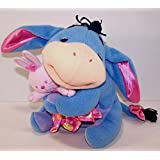 Baby Eeyore Plush Hugging Bunny Blanket Fisher Price Disney Rattles 2004