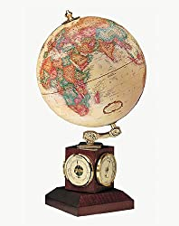 Weather Watch World Desk Globe
