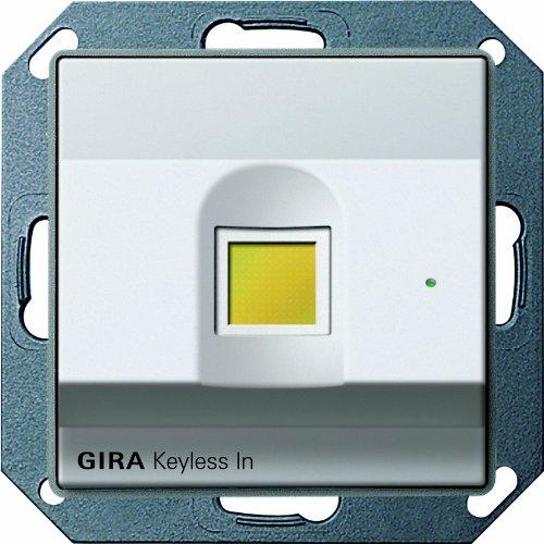 2607203 keyless in fingerprint gira e22 aluminium. Black Bedroom Furniture Sets. Home Design Ideas
