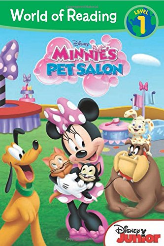 World of Reading: Minnie Minnie's Pet Salon: Level 1