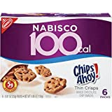 100 Calorie Packs Chips Ahoy!ThinCrisps, 0.81-Ounce, 6-Count Packs(Pack of 6)