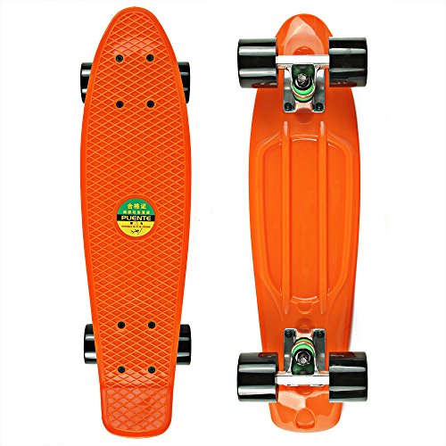 senmi-mini-skateboard-complet-en-plastique-559-cm-color-style-simple-avec-7-couleurs
