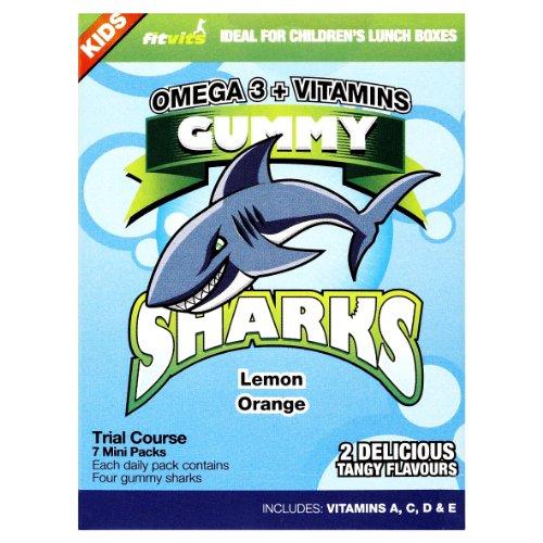 Fit Vits Omega 3 Gummy Sharks