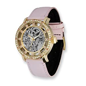 Fashionista Chameleon Swarovski Bezel/pink Strap Watch by Moog Watches, Best Quality Free Gift Box Satisfaction Guaranteed