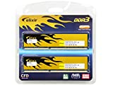 CFD販売  デスクトップPC用メモリ PC-12800(DDR3-1600) 8GB×2枚 240pin DIMM (無期限保証) (Elixirシリーズ) W3U1600HQ-8G ランキングお取り寄せ