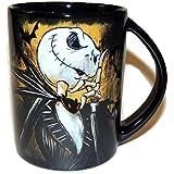 Disney Store Exclusive Jack Skellington Ceramic Mug Tim Burtons the Nightmare Before Christmas Holds 16 Ounces