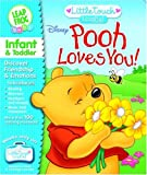 LeapFrog Little Touch LeapPad Book: Disney Pooh Loves You!