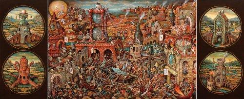 Artifact Puzzles - Tyukanov Purgatory Wooden Jigsaw Puzzle