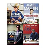 James Martin Delicious Recipes Collection Fast Easy Minimum Effort, (Home Comforts, Fast Cooking: Really Exciting Recipes in 20 Minutes, Slow Cooking: Mouthwatering Recipes with Minimum Effort and Masterclass: Make Your Home Cooking Easier James Martin