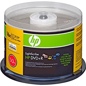 IMATION 2094 50PK DVD+R 16X CAKE BOX SUPL LIGHTSCRIBE HP BRANDED