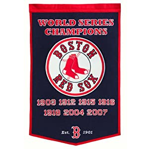 MLB Boston Red Sox Dynasty Banner by Winning Streak