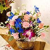【送料無料】迷ったときのお花ならコレ!ロングセラーの人気お祝い花 デュマン【届日指定可能】【翌日配達お花屋さん】