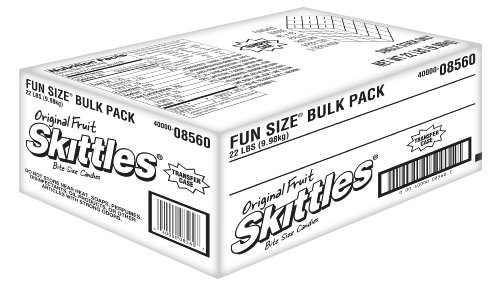 Skittles Fun Size, 22-Pound Bulk Package (Skittles Package compare prices)