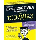 Excel 2007 VBA Programming For Dummiesby John Walkenbach