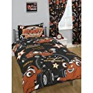 Kids/Childrens Roary The Racing Car No. 1 Star Duvet Cover Bedding Set