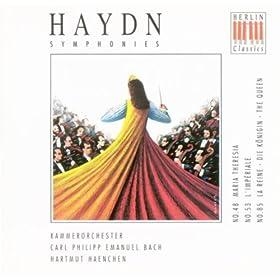 Haydn, J.: Symphonies Nos. 48, 53, 85 (C.P.E. Bach Chamber Orchestra, Haenchen)