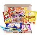Letterbox Friendly Mini Retro Sweets Selection Hamper Box