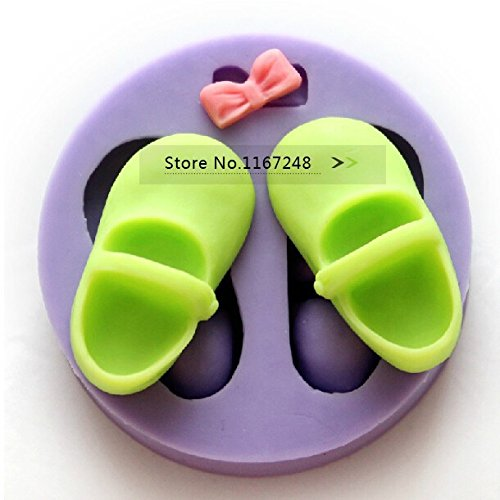 Lovely Shoes Shape Sugar Silicon Molds Cake Decorating Fondant Cake Tools Silicone Cake Mold Pastry Molds Styling Tools Bakeware front-556563