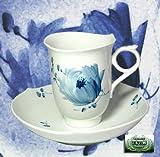 マイセン(Meissen)青い花 コーヒーカップ&ソーサー
