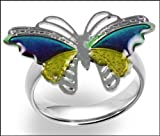 Magic Butterfly Adjustable Size Mood Ring (One Size Fits All)