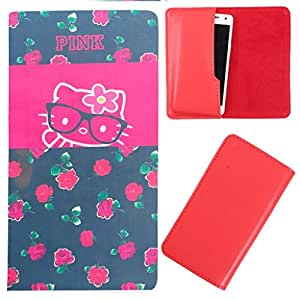 DooDa - For XOLO Q600 Club PU Leather Designer Fashionable Fancy Case Cover Pouch With Smooth Inner Velvet